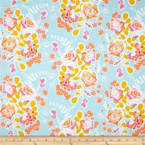 designer fabrics art gallery sweet as honey orchard blossom spring
