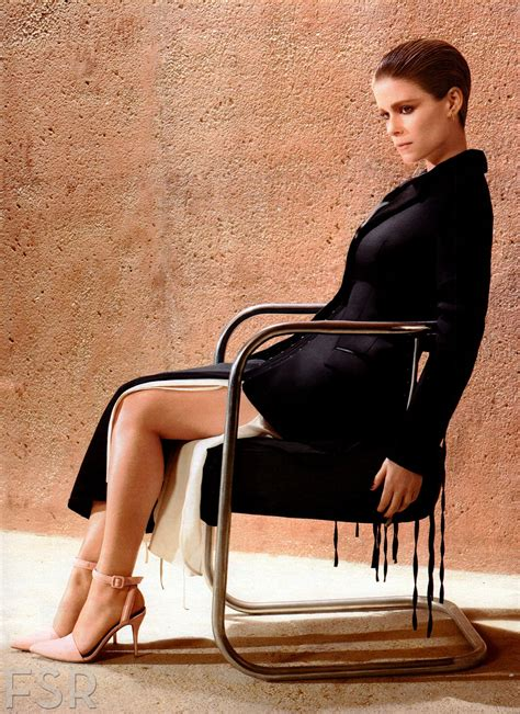 As Seen In Legs Are Instyle by Kate Mara Instyle Magazine April 2014 Issue