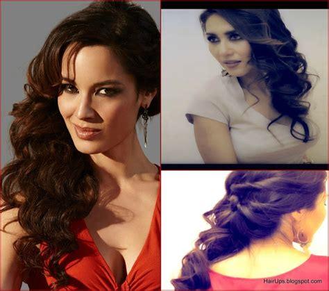 Bond Girl Hairstyles Updo | berenice marlohe 007 bond girl hair tutorial sexy half