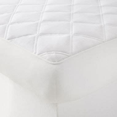 Jcpenney Mattress Covers by Jcpenney Home Temperature Regulating With Coolmax 174 Fabric Mattress Pad Jcpenney
