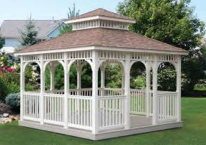 White Gazebo Cedar Outdoor Furniture Everything For Outdoor Living In