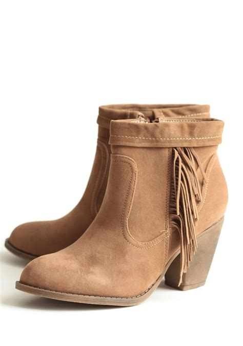 ankle boots with fringe fringe ankle boots my style