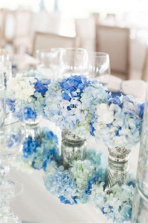100 beautiful hydrangeas wedding ideas wedding centerpieces blue wedding centerpieces blue