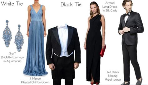 white tie wedding dresses black tie dress code dresses