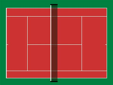 tennis court template index of cours maje td2