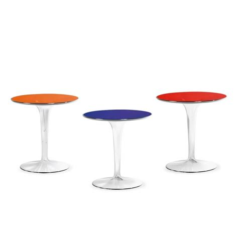 tip top tables tip top side table kartell ambientedirect