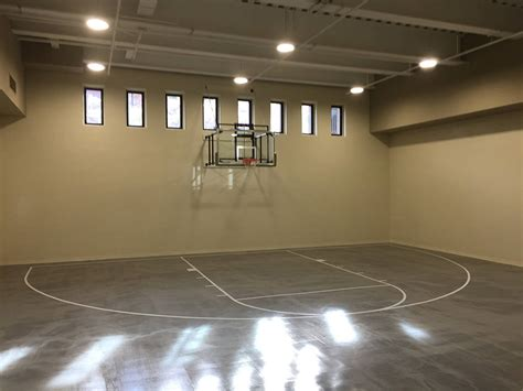 basement basketball court million dollar homes with lavish sports courts photos las vegas review journal