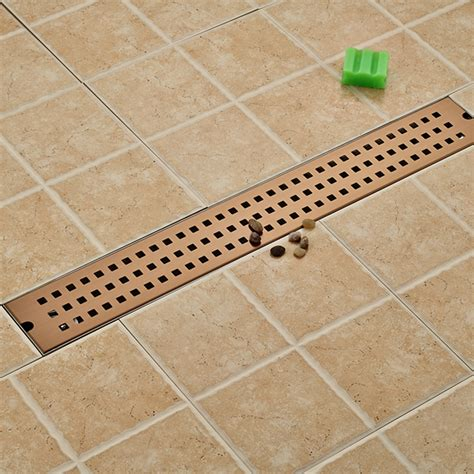 Bathroom Shower Drain 12 X 12cm Square Bathroom Shower Drain Floor Drainer Trap Waste Grate Strainer Wire Floor Drains