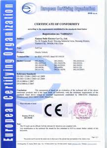 thebestartt com certificate of conformity china