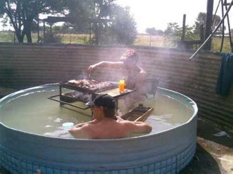 hillbilly bathtub redneck hot tubs because merica