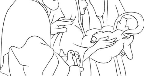baby jesus presented at the temple coloring pages jesus presented in the temple coloring page devotional