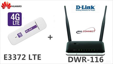 Router D Link Dwr 116 modem 4g lte huawei e3372 router d link dwr 116 zdj苹cie na imged