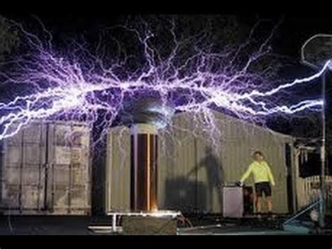 Tesla Experiments For High Voltage Experiments Stun Guns And
