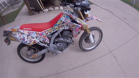 Fahrrad Sticker Bomb by Sticker Bomb Dirtbike