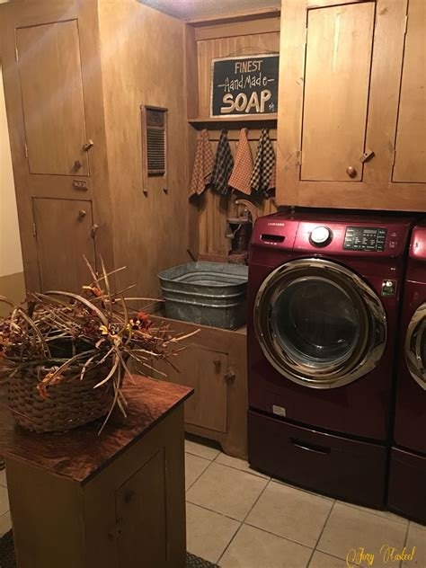 country laundry room ideas rustic laundry room design my primitive laundry room by jozy casteel pinteres