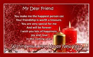 new year wish for a special friend free friends ecards
