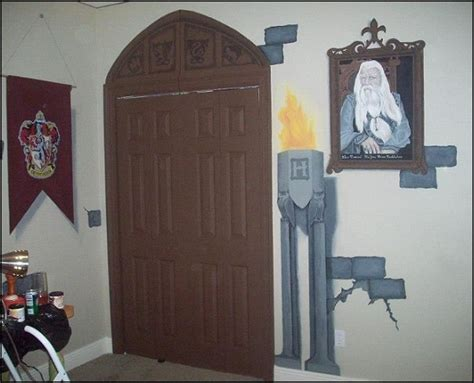 harry potter wall murals decorating theme bedrooms maries manor harry potter