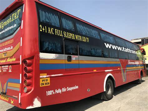 Coimbatore To Chennai Sleeper by Vignesh Tat Travels Transports Coimbatore Chennai 2