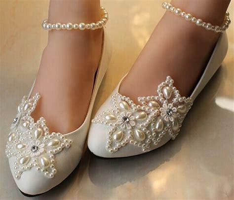 Fancy Flats For Wedding by Fancy Embellished Bridal Ballet Flat Shoes Designs