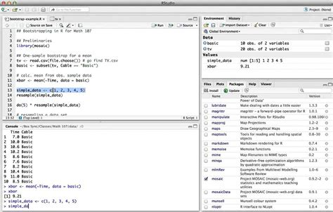 tutorial ci and bootstrap r one sle bootstrap ci for the mean youtube