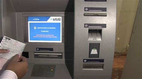 Banks And Simmons Skipped Out On A Bill by Deposit Pay Your Electricity Bill Hnb Atm