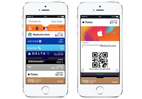 Apple Passbook Gift Card - how to use itunes pass with passbook