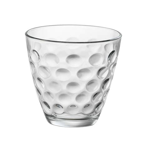 bicchieri bormioli acqua bicchiere da acqua dots 6 pezzi bormioli shop