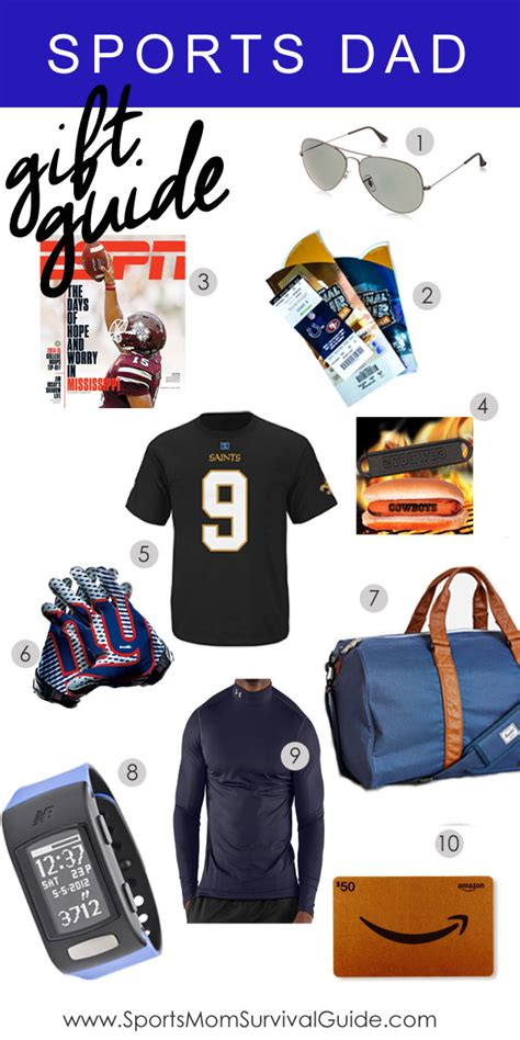 sports dad holiday gift guide sportsmomsurvivalguide com
