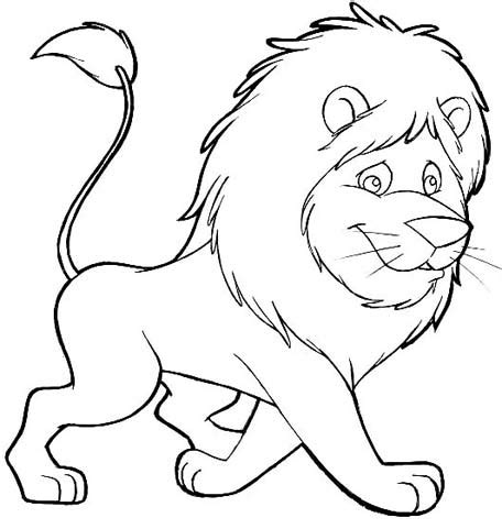 cartoon lion coloring pages lion cartoon colouring pages sketch coloring page
