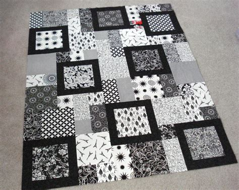 black and white quilts the way i sew it two for the show