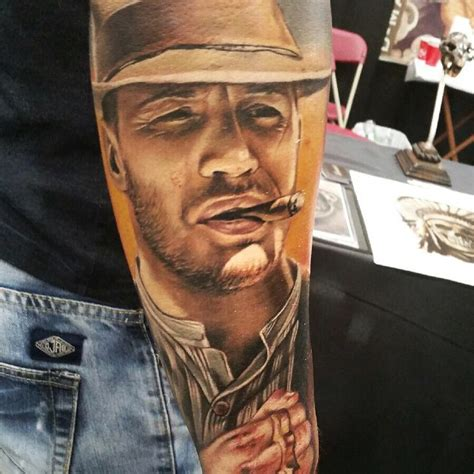 tom hardy tattoo forrest bondurant best ideas designs