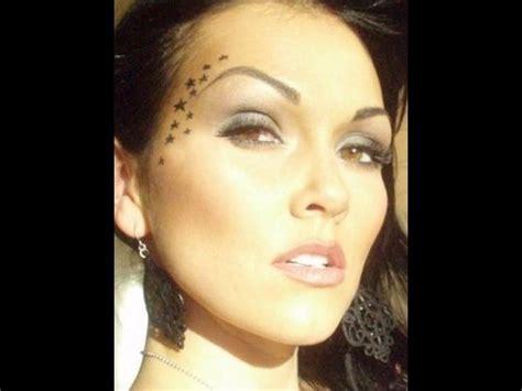 eyeliner tattoo kandee johnson kat von d star make up look kandee johnson youtube