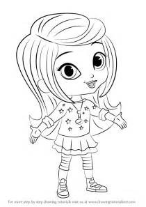 learn how to draw leah from shimmer and shine shimmer and