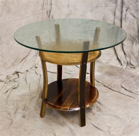 wine barrel kitchen table wine barrel dining table