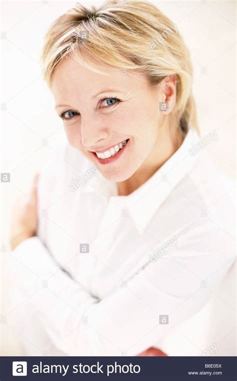 images of women 48 years old smiling woman happy 48 year old woman stock photo