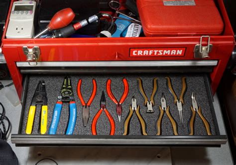 Foam For Tool Boxes Drawers by On Organize Your Tool Drawers With Fastcap Kaizen Foam