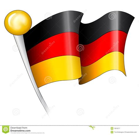 free german german flag illustration stock illustration image of