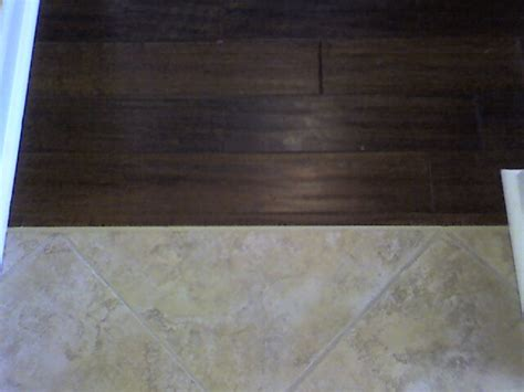 wood to tile transition down bath renovation ideas pinterest tile and woods