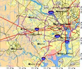 Fairfax Virginia Map by Fairfax County Virginia Detailed Profile Houses Real