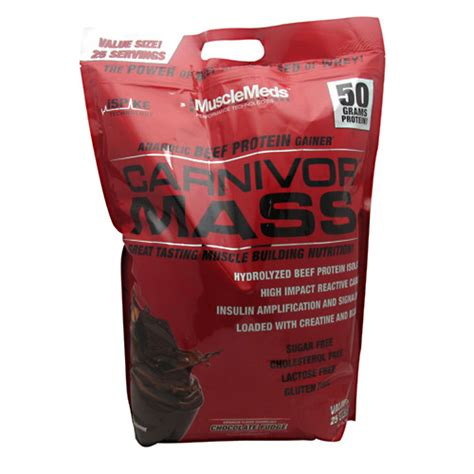 Carnivor Mass 10 Lbs Chocolate meds carnivor mass chocolate 10 lbs