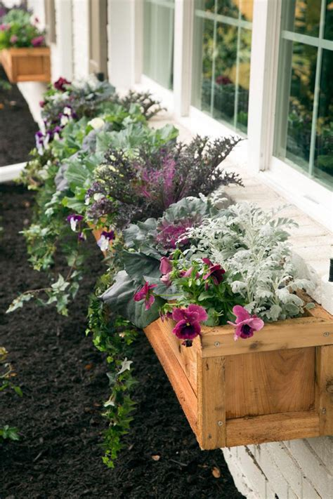 inside window box 25 wonderful diy window box planters home design and