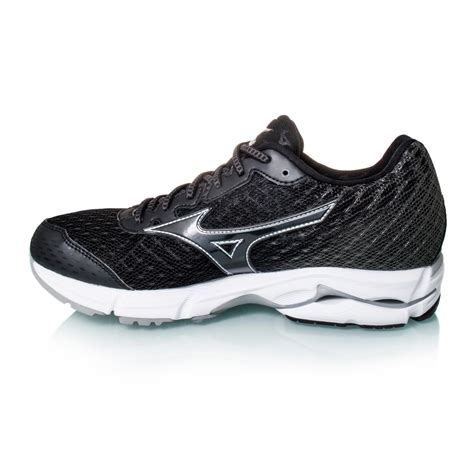 mizuno wave rider womens running shoes mizuno wave rider 19 womens running shoes black white