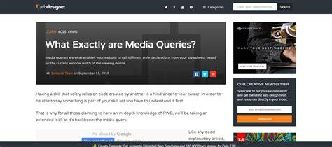 media queries tutorial css tricks 20 amazing tutorials for a responsive web design