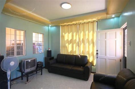 Modern Simple Bedroom Living Room Wallpaper Small Fresh Green Tree Wa living room design photos philippines
