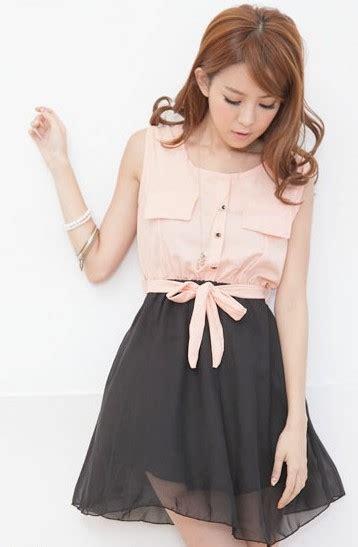 Dres Black Dress Panjang Baju Muslim Murah memilih model dress korea terbaru cantik sesuai usia