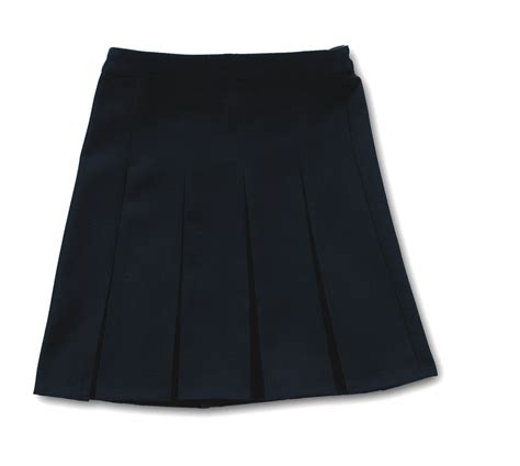 quality pleated skirt navy blue school