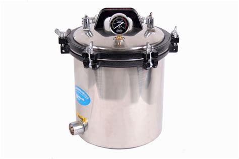 sterilize tattoo equipment with pressure cooker us 18l steam autoclave sterilizer dental medical tattoo