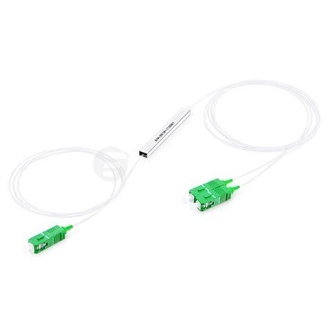 Fiber Optic Passive Splitter 1x2 With Modulebox 1x2 blockless fiber plc splitter fs