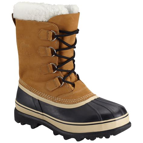 boots for winter mens sorel s caribou winter boots