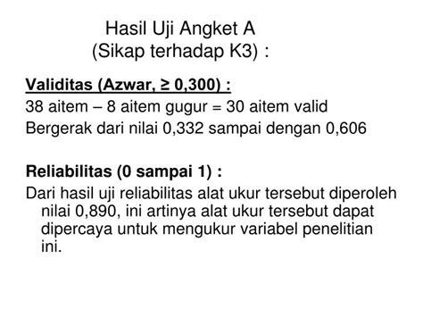 Reliabilitas Dan Validitas Saifudin Azwar ppt kesimpulan saran powerpoint presentation id 5808585